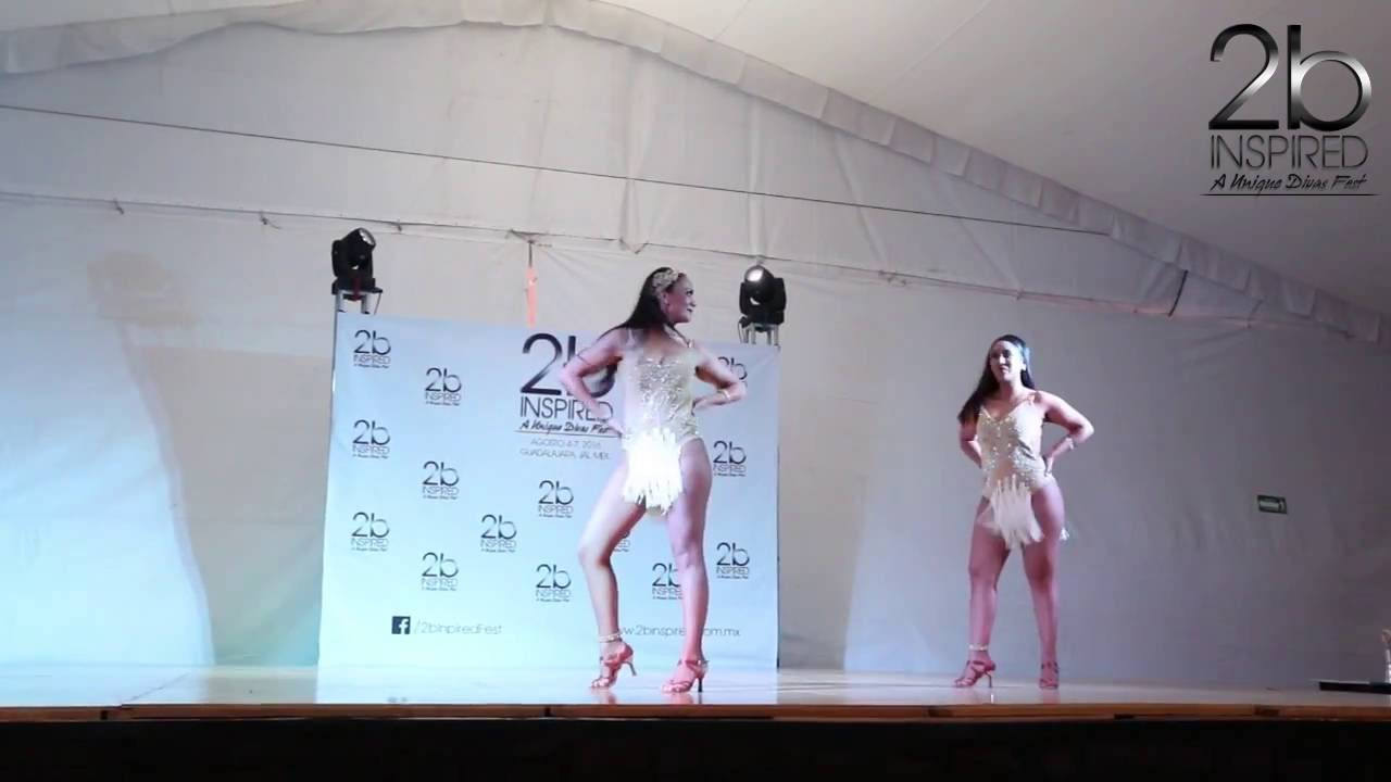 Brenda Gutierrez & Isabel Mora | 2do Lugar, Salsa Dueto | 2b Inspired 2016