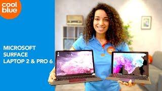Microsoft Surface Laptop 2 en Surface Pro 6 - Review