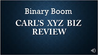 Binary Boom Review - The Truth about Binary Boom