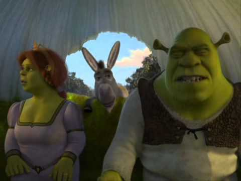 Shrek   Burro insoportable