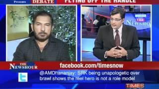 Debate: SRK's ugly spat-2