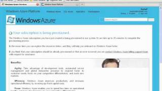 How to signup for Microsoft SQL Azure - Cloud based database