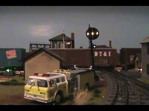 Ann Arbor Train in O scale #2 Video