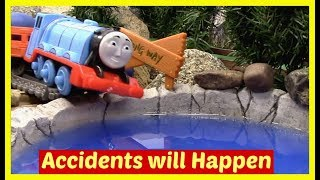 Thomas and Friends Accidents will Happen Compilation | Toy Trains Thomas the Tank