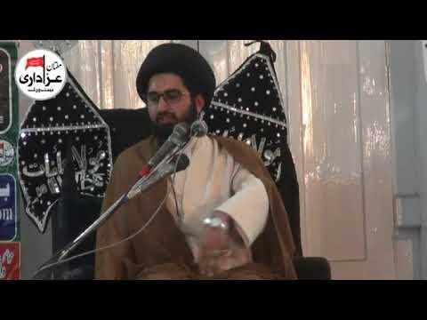 Allama Syed Sibtain Ali Naqvi | Majlis e Aza | 23 Ramzan 2018 | ImamBargah Haideria Gulghast Multan