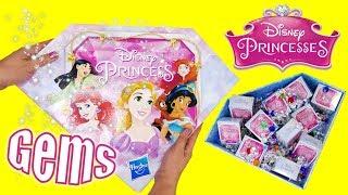 Disney Princess Gem Collection Hasbro Blind Boxes with Mulan and Rapunzel