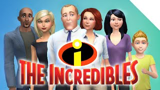 THE INCREDIBLES | The Sims 4 Create a Sim