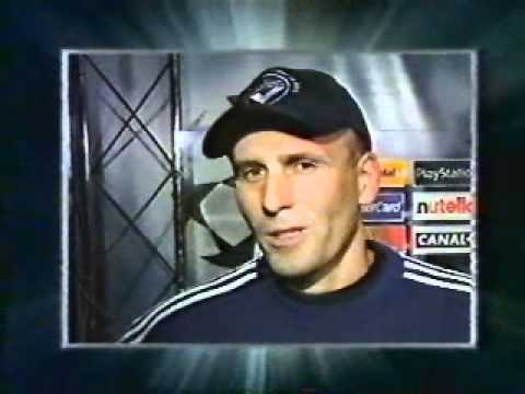 Interview Elie Baup après Bordeaux - Willem II (21/09/1999)