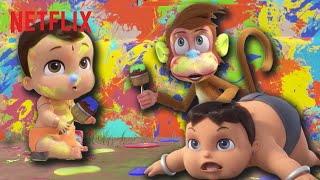 Funny Moments From Mighty Little Bheem 🤣 Netflix Jr