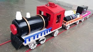 How to Make an Electric Train at Home