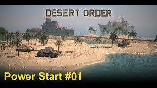 Desert Order: Power Start #01 (deutsch)