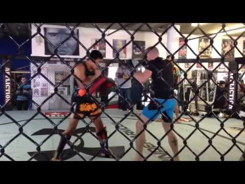 Georges St-Pierre GSP kills it with Muay Thai - UFC 167 training footage @ Tristar Image 1
