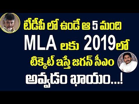టీడీపీ ఆ MLAలకు టిక్కెట్ ఇస్తే జగన్ సీఎం అవ్వడం ఖాయం.! Vijayawada Public Talk On AP Politics 2019 CM