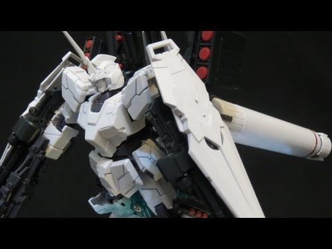 HGUC Full Armor Unicorn Gundam review (1: Unbox) Gundam UC Banagher's Gunpla plastic model ガンプラ