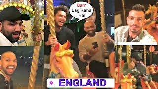 Team India Enjoying Merry-Go-Round Ride In England - ICC Cricket World Cup 2019