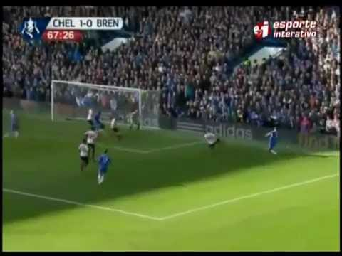 Golaço De Letra De Oscar Pelo Chelsea No Campeonato Inglês