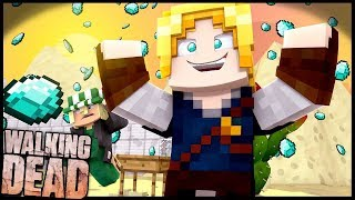FARMANDO DIAMANTES!! - Walking Dead #12: Minecraft