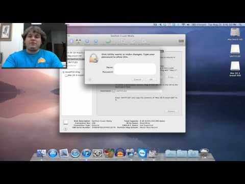 Make a OSX Mountain Lion USB Flash Drive