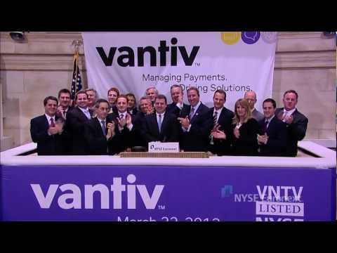 Vantiv celebrates IPO and rings the NYSE Closing Bell