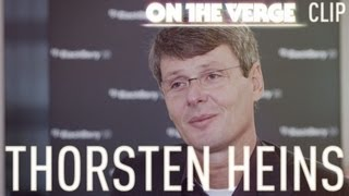 Thorsten Heins interview - On The Verge