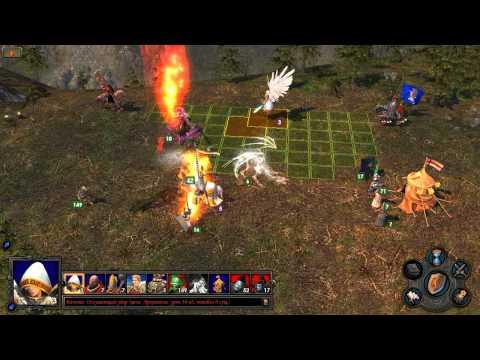 Heroes of Might and Magic: V Обучение Накса - часть  3 - дуэль