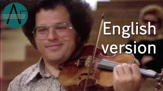 Itzhak Perlman: Virtuoso Violinist, I know I played every note - Documentary of 1978