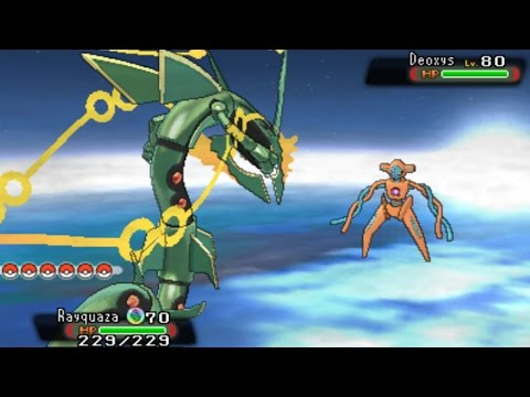 Pokemon Omega Ruby And Alpha Sapphire - Catching Deoxys video