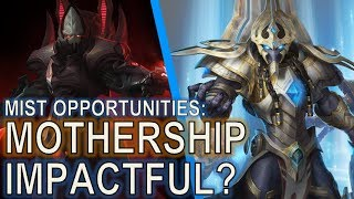 Starcraft II: Was the Mothership buff impactful?