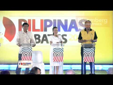 PILIPINAS DEBATE 2016 | March 22, 2016