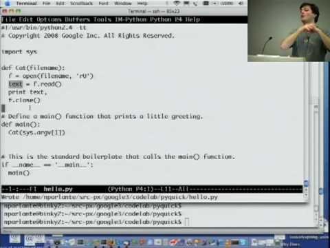 Google Python Class Day 1 Part 3