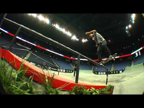Street League 2012: Ontario Practice Quick Clip with Nyjah Huston
