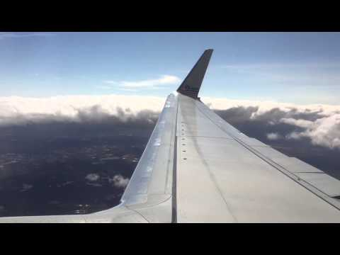 Approach and Landing into Boston