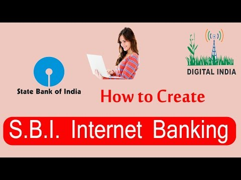 How to Create SBI Internet Banking first time online step by step Hindi-2018, #DNA
