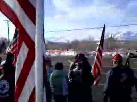 Westboro Baptist Church Reno soldier fu (the actual protest). An anti-gay ...
