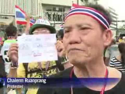 In Thailand, anti government protests escalate