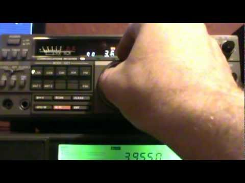 Kenwood R-5000  80m amateurs and pirat radio