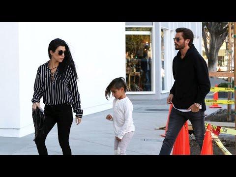 X17 EXCLUSIVE: Kourtney Kardashian And Scott Disick Spend Time With Son Mason