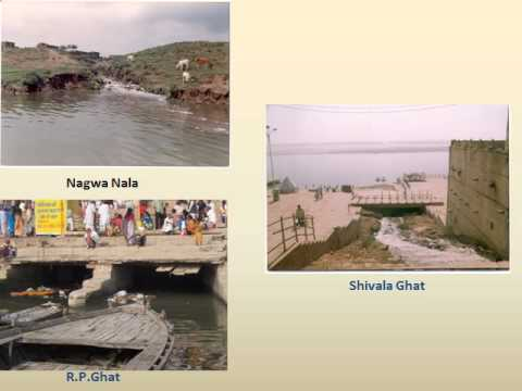 Sankat Mochan Foundation and Ganga at Varanasi.FLV