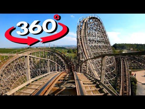 360 VR Video Roller Coaster VR Videos 360 4K [Samsung Gear 360 4K] Virtual Reality Videos 360 VR 4K