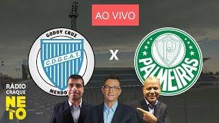 Godoy Cruz x Palmeiras AO VIVO Rdio Craque Neto Libertadores 2019