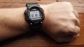 Casio W-736H Vibro Alarm Watch.