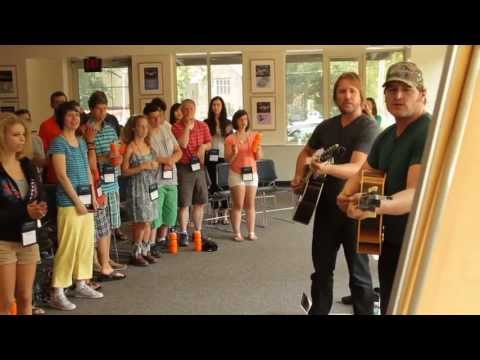 2013 ACM Lifting Lives Music Camp - Songwriting Session with Jerrod Niemann & Lance Miller