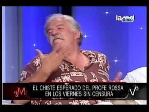 Profesor Rossa y su chiste del Desierto en Mentiras Verdaderas