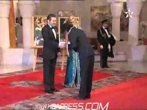 Shahrukh Khan  Honerd By The Prince By A Medal In Marrakech 2012 video
