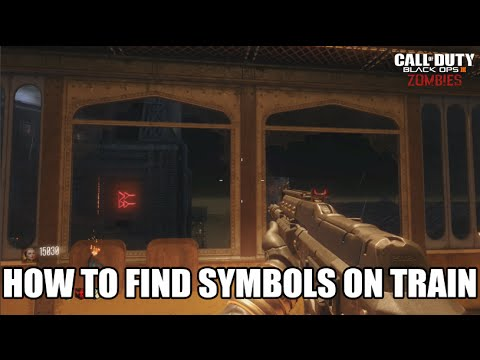 How To Find Symbols From Train Map ? Explained (Needed For Sword) (Black Ops 3 Shadow of Evil )