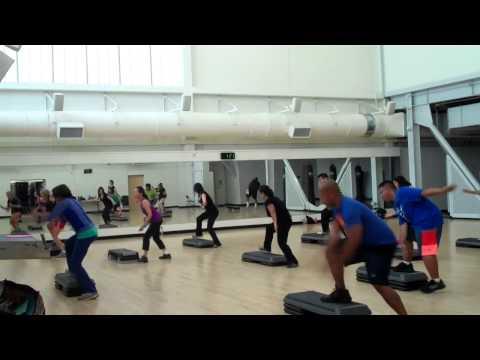 San Diego City College Step Aerobics Summer 2014 Coach Bodnar