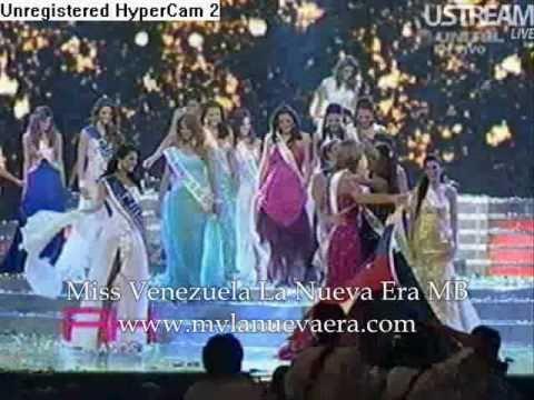 REINA HISPANOAMERICANA 2010 Coronación completa y Adriana Vasini