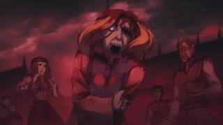 Castlevania Animated Series - Night Creature Attack Scene