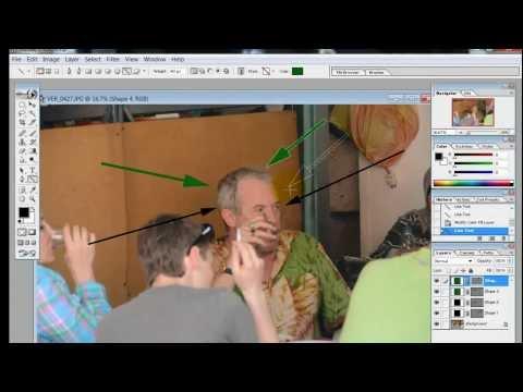 Видео как нарисовать стрелку в Фотошопе