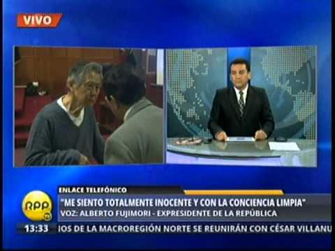 Entrevista a Alberto Fujimori en RPP 2